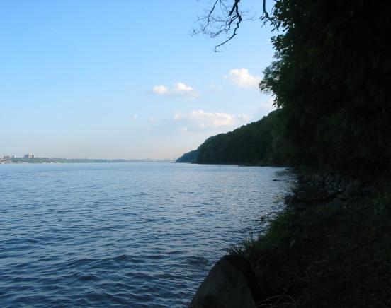 View of the Hudson River from the Shore Trail - Photo by Daniel Chazin