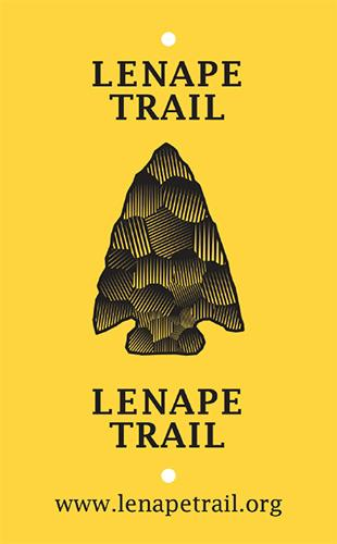 Lenape Trail Blaze Sticker