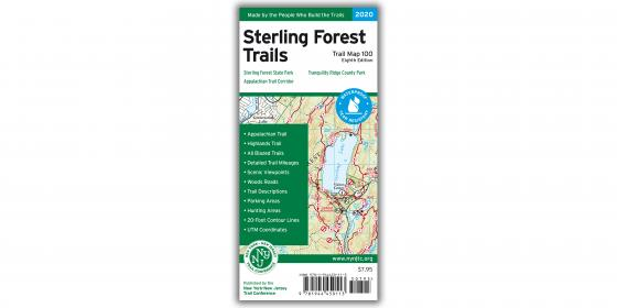 Sterling Forest 2020 Map Cover